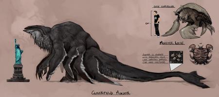 Supuesto monstruo de Cloverfield